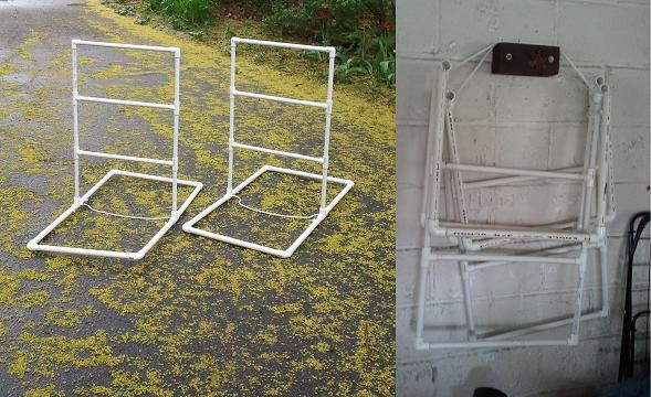 Ladder golf construction tricks project blog for Ladder project